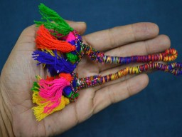 Multicolor Color Banjara Style Handmade Authentic Accessory Gypsy Cotton decorative tassels decorating supplies and Bells Tassel Camel swag For Decoration