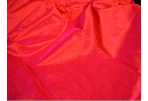 Iridescent dupioni silk fabric by the Yard Red dupion silk fabric