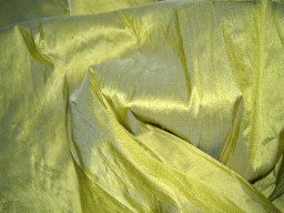 Dupioni silk fabric By the Yard Olive Green dupion silk fabric