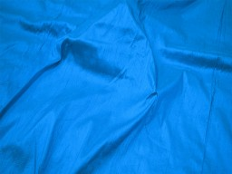 Pure turquoise blue dupioni silk fabric by yard wedding bridesmaid prom dresses wholesale indian raw silk dupion crafting sewing upholstery