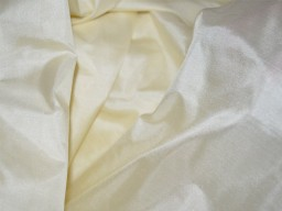 Indian ivory soft pure plain silk fabric by the yard wedding dress bridesmaids costumes party dresses pillows cushion covers drapery curtain