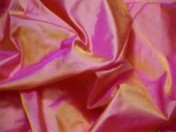 60 gsm iridescent yellow magenta indian pure silk fabric by the yard mulberry silk home decor curtain scarf costume apparel wedding dresses