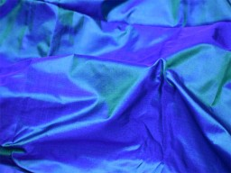 60 gsm iridescent blue green indian pure silk fabric by the yard mulberry silk home decor curtain scarf costume apparel wedding dresses