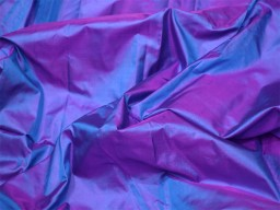 60 gsm iridescent blue magenta indian pure silk fabric by the yard mulberry silk home decor curtain scarf costume apparel wedding dresses