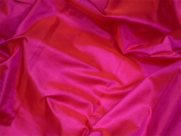 60 gsm iridescent magenta red indian pure silk fabric by the yard mulberry silk home decor curtain scarf costume apparel wedding dresses