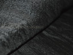 Black Pure Silk Dupioni Raw Silk Indian Silk Fabric Raw Mulberry Silk Indian Dupioni Silk by Yard
