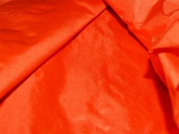 Orange Pure Silk Fabric Plain Silk Dress Costume dupion