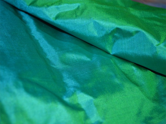 Indian peacock green plain pure silk fabric by the yard light weight silk curtains scarf costume apparel wedding dress soft silk fabric