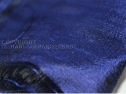 Navy blue indian pure dupioni silk raw silk fabric by the yard crafting sewing wedding dresses skirts vest coats silk pillow cover curtains garments accessories festival wear silk fabric