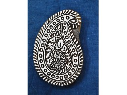 Decorative Blocks Indian Wood Block Printing Stamps Paisley Stamp