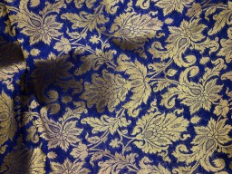 Banarasi Silk for Wedding Dress lehenga Skirt Costume fabric Crafting