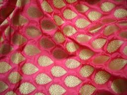 Bridal Wedding Dress Banarasi Brocade fabric