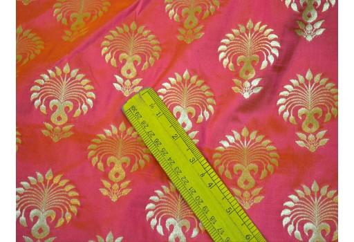 Banaras Brocade jacquard fabric Wedding Dress Fabric