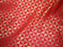Banarasi silk brocade illustrate golden woven design fabric coral brocade wholesale fabric by the yard online evening dress material mat making brocade furniture cover brocade clutches fabric bow-tie brocade