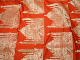 Brocade Fabric for Lengha Banaras Brocade Silk Fabric