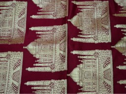 Banarasi silk brocade illustrate golden design fabric maroon brocade wholesale fabric by the yard online evening dress material mat making brocade furniture cover brocade clutches fabric bow-tie brocade