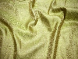 Brocade Fabric Olive Green Gold brocade jacquard fabric