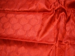 Red jacquard fabric brocade fabric by the yard for vest jacket silk fabric wedding dress bridesmaid dress sewing crafting costume