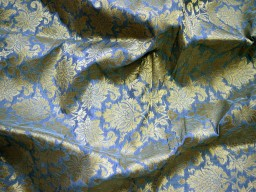 Silk brocade fabric in grey and gold with motifs indian silk dresses fabric pure banarasi brocade silk fabric by the yard crafting sewing