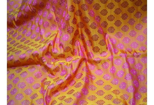 Banaras jacquard fabric for skirts indian brocade fabric by the yard coat fabric wedding dress fabric bridesmaid costumes crafting sewing