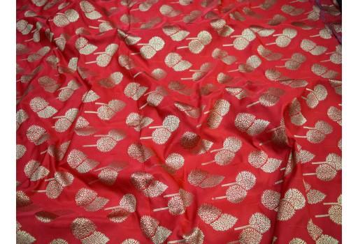 Bridal Making Lehenga Dress Material fashion blogger Fabric traditional Banarasi Brocade by the yard clothing accessories Costume Crafting