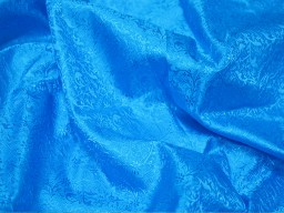 Wedding dress brocade fabric vest jacket turquoise blue jacquard fabric banarasi silk bridesmaid dress sewing crafting costume