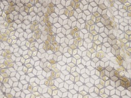 Embroidered fabric sequins fabrics crafting costumes dye-able chikankari sequin saree making ivory floral design fabric