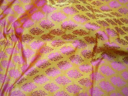 Jacquard Fabric costume brocade fabric indian art silk banarasi brocade fabric by the yard wedding dress jacquard fabric cushion covers home décor