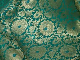 Brocade Fabric by the yard Wedding Dress Fabric Benarse