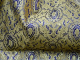 Brocade Fabric by the yard Banarasi Brocade
