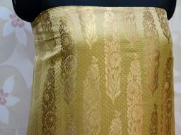 Brocade Fabric by the Yard  Indian Banarasi lehenga