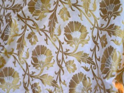 Banarasi Fabric Sewing Crafting Fabric Bridal Dress Material