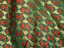 benarse blended silk brocade in Geometrical design fabric