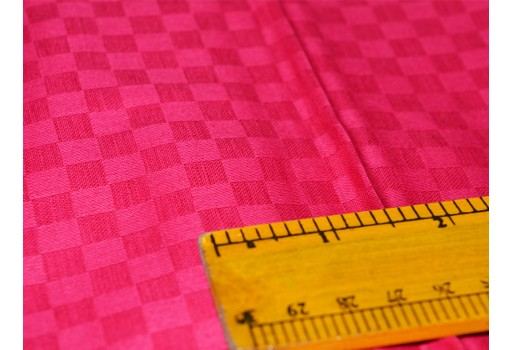 Fuchsia Soft Glazed Cotton Fabric