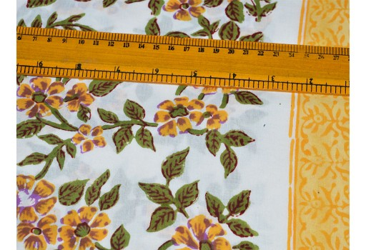 Block Printed fabric, Soft Pure Cotton