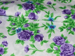 Floral Cotton Fabric Print Indian Fabric soft cotton Fabric for Dress  Nursery Quilting Crafting