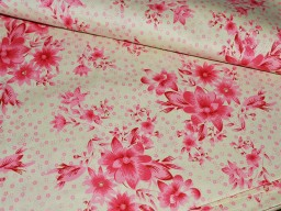 Floral Printed Cotton Fabric for summer dresses skirts and night dresses  Soft Cotton for Nursery Quilting