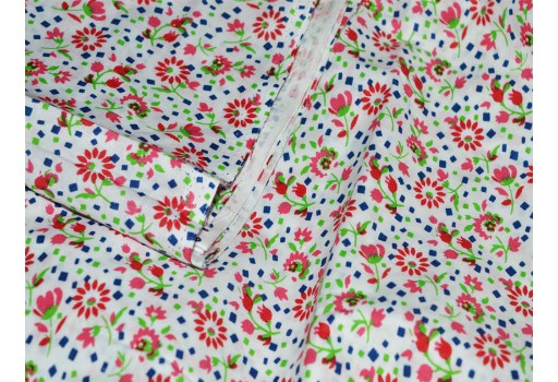 Floral Fabric Cotton fabric in Tiny Floral Print for Kids Dresses Apparal Quilting cotton fabric by the yard