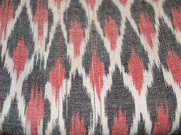 Ikat Handloom Cotton Fabric