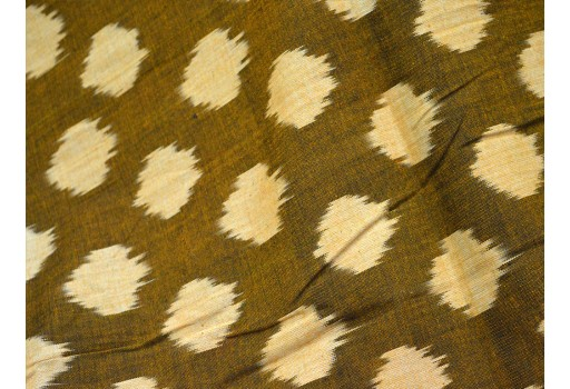 Ikat Fabric cotton fabric by the yard Upholstery Fabric Ikat for cushion cover Handwoven Ikat Handloom Ikat Fabric Homespun Ikat