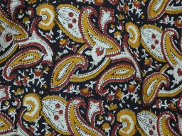 Hand printed Indian Fabric Dress fabric Cotton