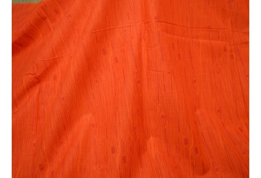 Beautiful wood texture print in Orange color