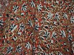 Hand Block Printed Cotton Fabric by the yard