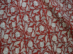 Hand Printed Quilting Soft Cotton Fabric
