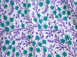 Indian Hand Block Printed Sewing Soft Cotton Fabric by the yard Quilting Dressmaking Nursery Crafting Curtains Summer Women Kids Apparels