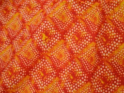 Indian Cotton Fabric for summer dresses Beautiful print in Yellow