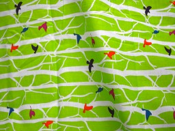 Screen Printed indian Cotton Fabric for patchwork