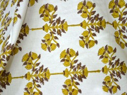 Indian Fabric for quilt summer dress Hand Printed Fabric