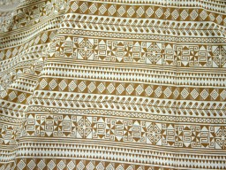 Boho Fabric Geometric Fabric Geometric brown Print Cotton Apparal fabric Indian Cotton Fabric by the Yard Dress Fabric indian cotton fabric