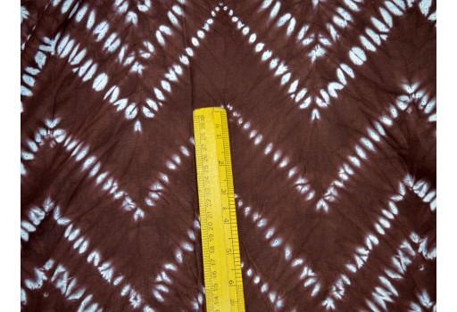 Hand Tie Dye Indian Cotton  Shibori mudcloth fabric